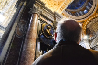 My father, in the Vatican
