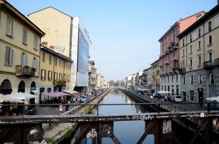 Navigli di Milano, Italia