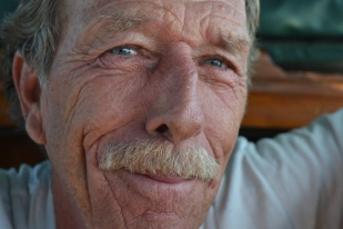 "Dave Richardson, 66, always wanted to live on the water. He tried to convince his father to take a sailing trip beyond the east coast, but ""he was raising a family,"" Richardson said. Although he studied elementary education and has been married, he didn't have children. ""There'd be no boat involved if I have a family,"" he said."